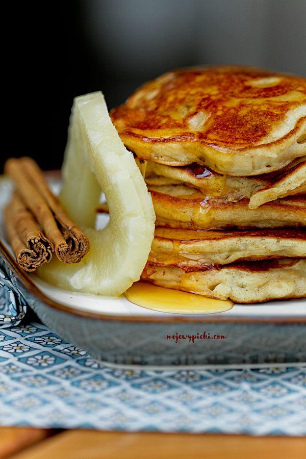 Ananasowe pancakes