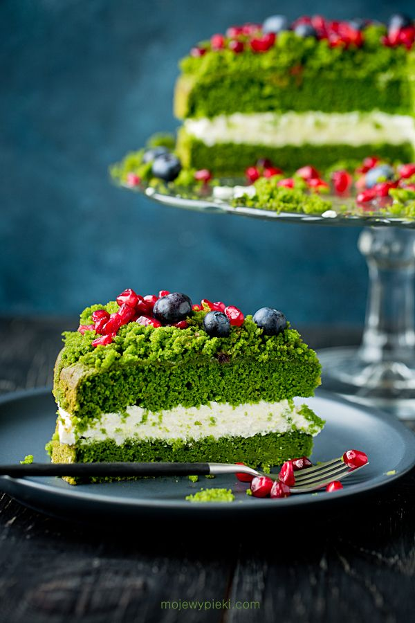 Forest moss cake