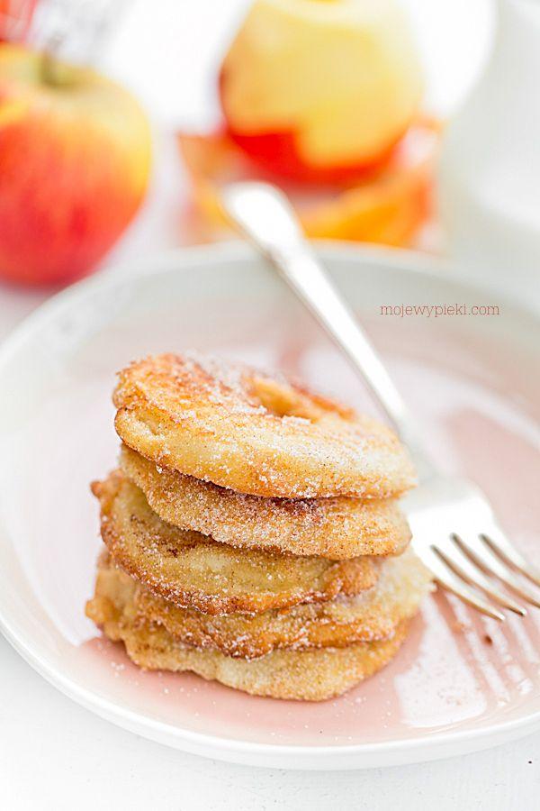 Jabłka w cieście naleśnikowym