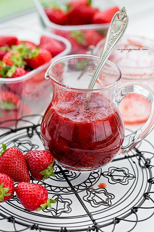 Sos truskawkowy