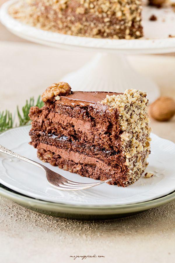 Tort Czekolada i Orzech Włoski