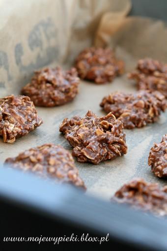 Ciasteczka czekoladowo-owsiane (bez pieczenia)