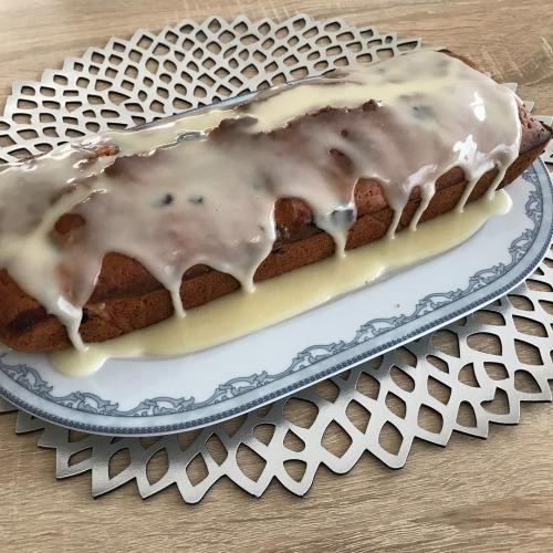 ciasto z borówkami w keksówce