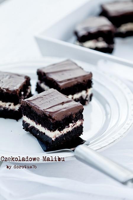 Ekstremalnie czekoladowe ciasto 'Czekoladowe Malibu'