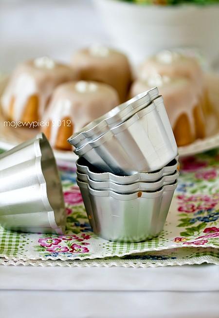 Babeczki jogurtowe z nutką cytrynową