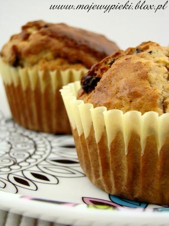 Muffiny owsiane z miodem