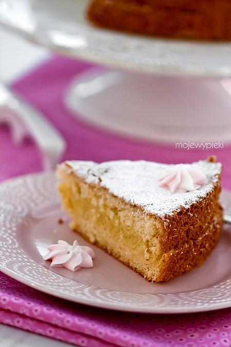 Szwedzkie ciasto waniliowe